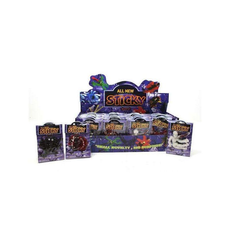 Motif gluant sticky vendu par 48 Jouets et articles kermesse 6007-LOT