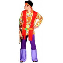 Déguisement hippie psychédélique homme taille M-L Déguisements 6036ATOSA