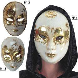 Masque carnaval décor doré Accessoires de fête 605