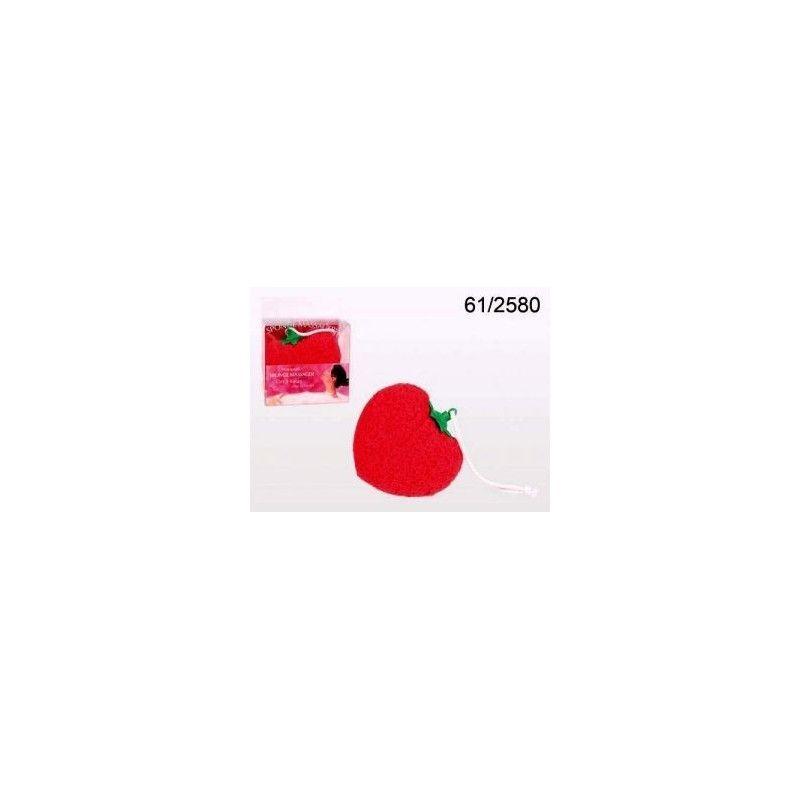 Eponge masseuse en forme de coeur à vibromasseur Divers 612580