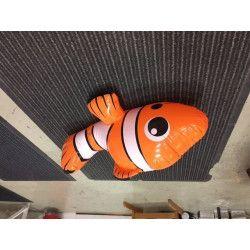 Gonflable poisson 68 cm lot de 10 Jouets et articles kermesse 6166