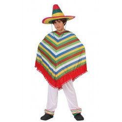 Déguisements, Déguisement mexicain garçon taille 9-13 ans, 6171, 19,90€