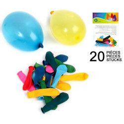 Sachet de 20 ballons bombe à eau vendu par 48 Jouets et kermesse 62159-LOT