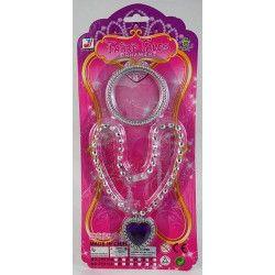 Set de bijoux princesse collier et bracelet Jouets et articles kermesse 6218