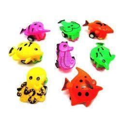 Animal poisson rétro-friction 5.5 cm vendu par 48 Jouets et articles kermesse 11058-LOT