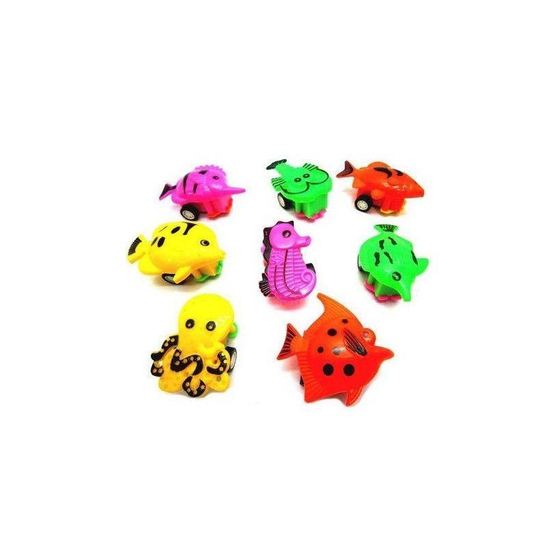 Animal poisson rétro-friction 5.5 cm vendu par 48 Jouets et kermesse 11058-LOT
