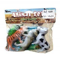 Animaux de la jungle en plastique Jouets et articles kermesse 6289