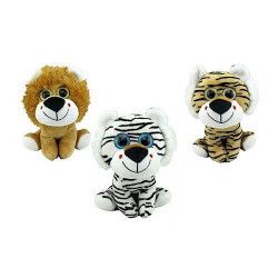 Peluche animal de la jungle 16 cm Jouets et articles kermesse 62949