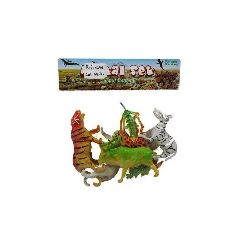 Animaux de la savane PVC Jouets et kermesse 6296