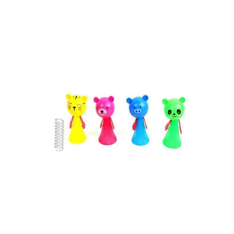 Animal sauteur 10 cm vendu par 24 Jouets et articles kermesse 11065-LOT