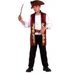 Déguisements, Déguisement Pirate garçon 7-9 ans, 6312-, 29,80€