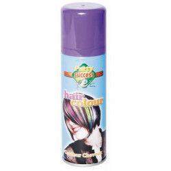 Bombe cheveux violets 125 ml Accessoires de fête 631360