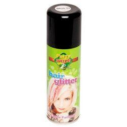 Bombe cheveux paillettes multicolores 125 ml Accessoires de fête 631387