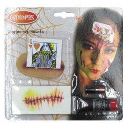 Accessoires de fête, kit maquillage reine de coeur, 63170237, 6,90€