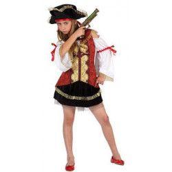 Déguisement pirate fille taille 3-4 ans Déguisements 6362