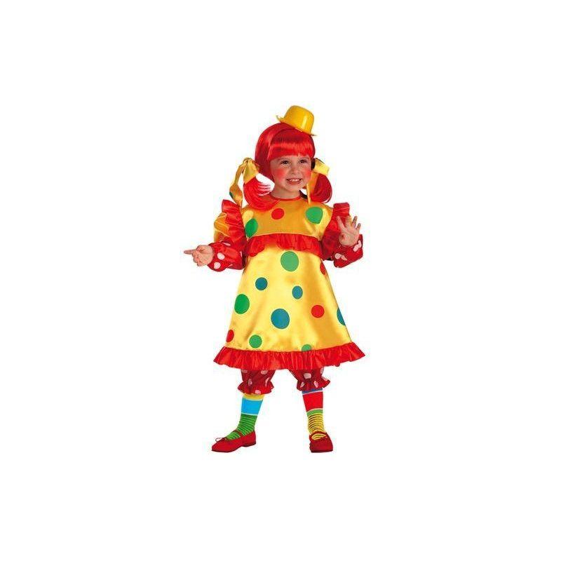 Déguisement clown fille 4-5 ans Déguisements 63715