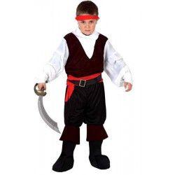 Déguisement Pirate enfant taille 7-9 ans Déguisements 6381