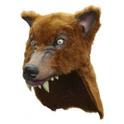 Masque loup adulte Accessoires de fête 64226-26423