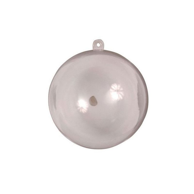 Boule décorative transparente diamètre 16 cm Cake Design 642TR