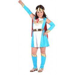 Déguisement super héroine bleue fille 4-6 ans Déguisements 6553