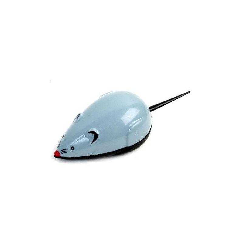 Jouets et kermesse, Animal souris rétro-friction 9 cm vendue par 48, 11218-LOT, 0,24€