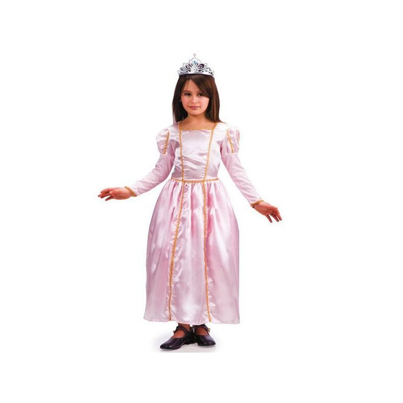 Déguisement princesse rose avec diadème fille 6-7 ans Déguisements 65668