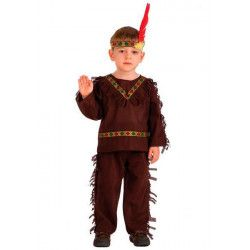 Déguisements, Costume indien peau rouge 4-6 ans, 65822, 18,90€
