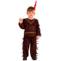 Déguisements, Costume indien peau rouge 6-7 ans, 65823, 18,90€
