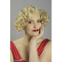 Accessoires de fête, Perruque Aimée années 30 blonde, 11270115, 12,90€