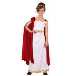Déguisements, Déguisement romaine enfant 7-9 ans, 6613, 22,95€