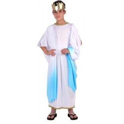 Déguisements, Déguisement garçon romain bleu taille 3-4 ans, 6615, 19,90€