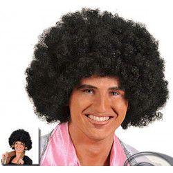 Accessoires de fête, Perruque afro noire small, 67012, 4,90€