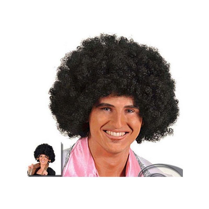 Perruque afro noire small Accessoires de fête 67012