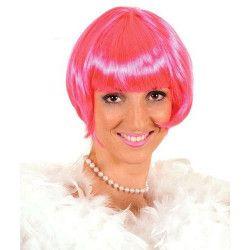 Perruque cabaret rose adulte Accessoires de fête 67074
