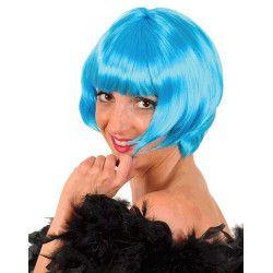 Perruque cabaret bleue adulte Accessoires de fête 67081