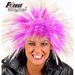 Perruque punk violette Accessoires de fête 67104