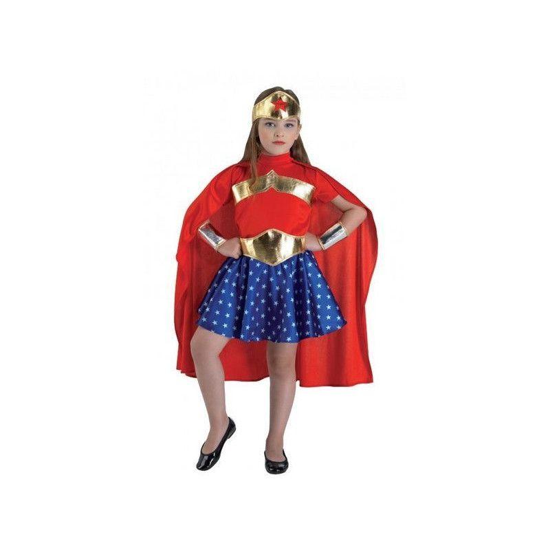 Déguisement supergirl fille 6 ans Déguisements 67106