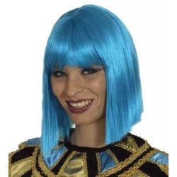 Perruque Coco turquoise Accessoires de fête 11273210
