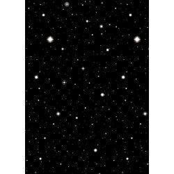 Décoration murale nuit étoilée Hollywood 12,2 x 1.2 m Déco festive 673110
