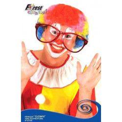 Perruque clown multicolore Accessoires de fête 67456