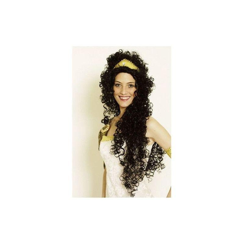 Accessoires de fête, Perruque Ramona noire longue, 11273701, 18,50€