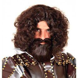 Perruque Centurion avec barbe Accessoires de fête 67791