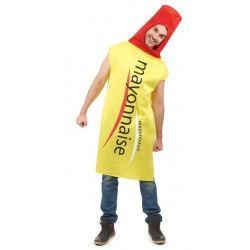 Déguisement tube mayonnaise adulte Déguisements 67810VEG