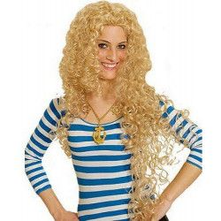 Perruque Ramona blonde longue Accessoires de fête 11273715