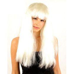 Perruque blond platine femme Accessoires de fête 68279