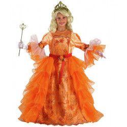 Déguisement reine du soleil orange fille 5-7 ans Déguisements 68306