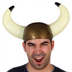 Casque viking adulte Accessoires de fête 69048