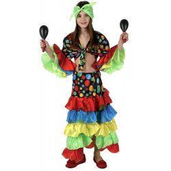 Déguisement danseuse de rumba fille 7-9 ans Déguisements 69475