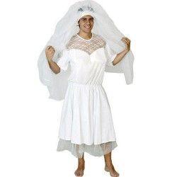 Déguisement de mariée homme adulte M-L Déguisements 69638