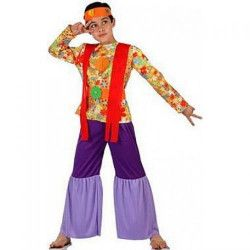 Déguisements, Déguisement hippie garçon 5-6 ans, 6967, 18,90€